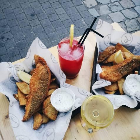 biamara, fish, chips, antwerpen, eten, restaurant, vis,