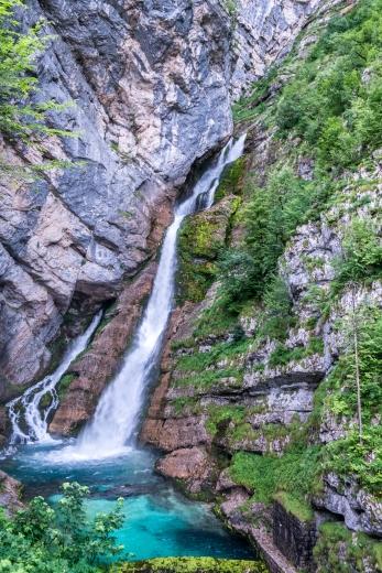 Savica waterval Slovenië