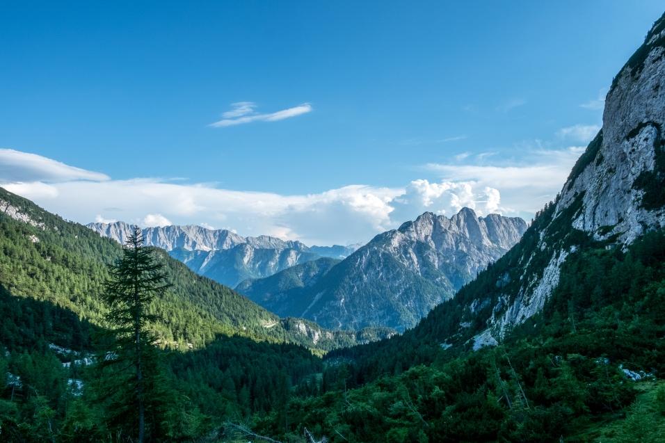 Triglav gebergte Slovenië
