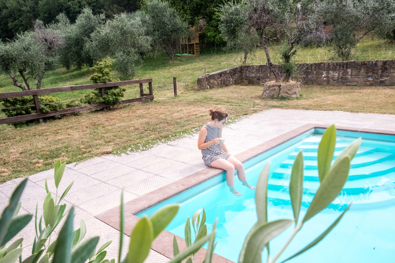 zwembad, zomer, augustus angst, august anxiety, vis noch vlees, vakantie